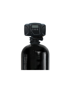 """AIO Air Injection Oxidizing Water Filter System 13"""" x 52""""- Iron, Sulfur, and Manganese Removal   Fleck 56000SXT"""