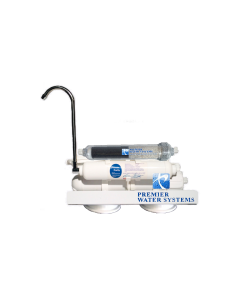 Premier Portable Countertop Alkaline Reverse Osmosis Water Filtration System - Low Pressure Membrane