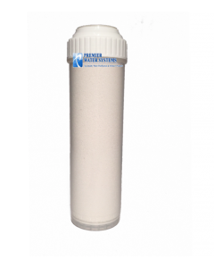 "Replacement Water Filter: Strong Base Anion - Nitrate Reduction Cartridge (2.75"" x 9.75"")"