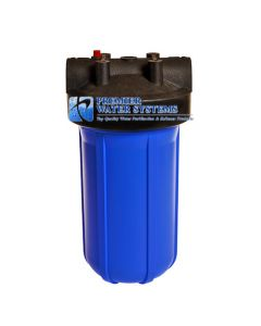 "Premier Water Systems Big Blue Water Filter Housing Sump 4.5"" x 10"""