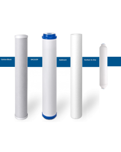"Replacement Big Blue Filters/Cartridges + Inline for Commercial Reverse Osmosis Water Filtration Systems - 2.5""x20"""