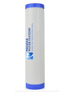 """20"""" Big Blue LimeScale Reducing Water Filter Cartridge 4.5"""" x 20"""" - SLOW PHOS   for Whole House Big Blue Housing Filtration Systems"""