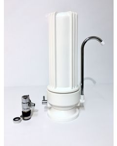 Counter Top Single Stage Drinking Water Filter | CTO Carbon Block | Made in USA
