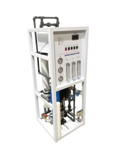 Reverse osmosis 3000 GPD  on Skid with booster pump