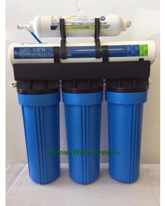 Premier Reverse Osmosis Water System High Recovery unit 50% California Edition