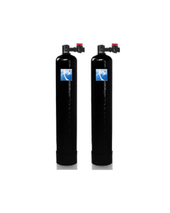 Salt Free Water Conditioner with Scale Prevention | 12 GPM | & Catalytic Carbon Whole House Upflow Filtration System