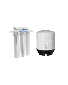 "Light Commercial 150 GPD Reverse Osmosis Alkaline Water Filter System + 14 Gallon Tank | 20"" Housing"