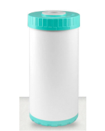 """4.5"""" x 10"""" Whole House Big Blue Refillable Water Filter Cartridge - GAC Catalytic Carbon + Birm + KDF 85: Removes Iron, Manganese, Hydrogen Sulfide - Rotten Egg Smell"""