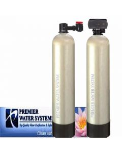 PremierSoft Water Conditioner 15 GPM Backwash Whole house Carbon Filter KDF
