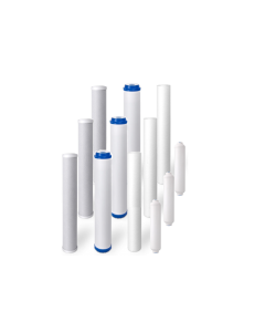 """PACK OF 12: Replacement Slim Blue 20"""" Pre-Filters/Cartridges for Commercial Reverse Osmosis RO Water Filtration Systems 