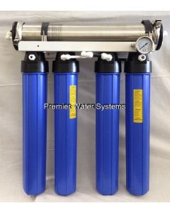 Reverse Osmosis Water System 1000 GPD with Dual Outlet Restaurant Catering USA