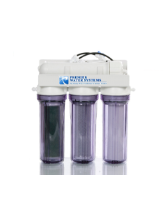 Aquarium Reef Reverse Osmosis RO/DI Water Filtration System 4 Stage | 75 GPD 0 PPM