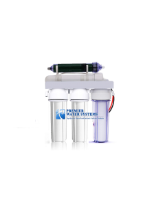 5 Stage Aquarium Reef Reverse Osmosis Water Filtration RO/DI System | 50 GPD