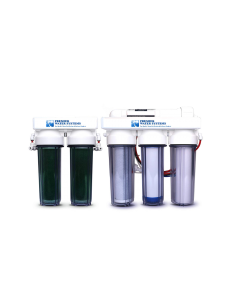 6 STAGE AQUARIUM REEF | 75 GPD | RO/DI REVERSE OSMOSIS WATER FILTRATION SYSTEM + DUAL DI | MADE IN USA