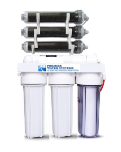 7 Stage | 0ppm RO/DI Aquarium Reef Reverse Osmosis Deionization Water Filter System | 50 GPD |