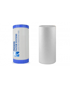 """2 Pack: Whole House Big Blue Replacement Water Filters (4.5"""" x 10""""): 10"""" Sediment - GAC Cartridges"""