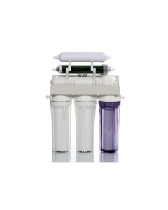 50 GPD | Portable Reverse Osmosis Dual Outlet Use (Drinking + 0 TDS Aquarium Reef / Deionization) Water Filtration System