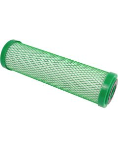"Hydro-Logic 22110 10-Inch by 2.5-Inch Stealth RO/Small Boy Carbon Filter Green Coconut Shell Carbon - 5 Micron | 2.5"" x 10"""