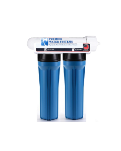 3 Stage - Hydroponics Reverse Osmosis Water Filtration System | 100 GPD BLUE | Plant Growth
