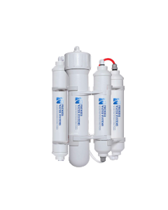 Portable Mini RO Reverse Osmosis Water Filter System | 4 Stage Filtration | 75 GPD | Made in USA