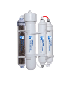 Portable RODI Mini Reverse Osmosis Water Filtration System | 4 Stage with DI Filter | 75 GPD