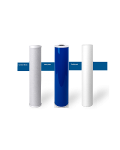"Replacement Big Blue Filters/Cartridges for Whole House Water Filtration Systems - 4.5""x20"""