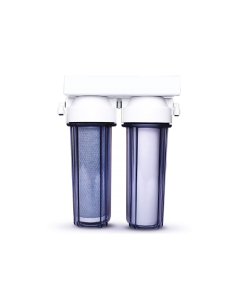 Premier Clear Dual Drinking Water Filter System | Carbon + Sediment Filters