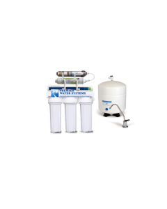 California Edition: 6 Stage RO Reverse Osmosis Water Filtration System ALKALINE pH 150 GPD 1:1 Ratio Low Waste:High Recovery