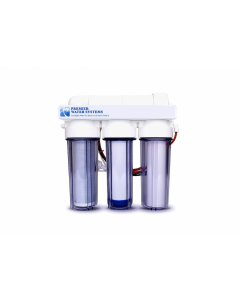 4 Stage - Hydroponics Reverse Osmosis Water Filtration System | 50 GPD | Plant Growth