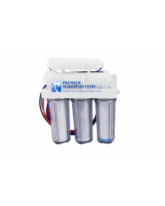 5 Stage: Core Home Reverse Osmosis Drinking Water Filtration System - CLEAR