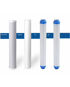 Replacement Pre-Filters/Cartridges for The Shark Commercial Reverse Osmosis DI Water Filtration Systems