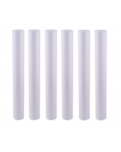"6 BIG BLUE SEDIMENT WATER FILTERS 4.5"" x 20"" 5 Micron For Big Blue 20"" Housing"